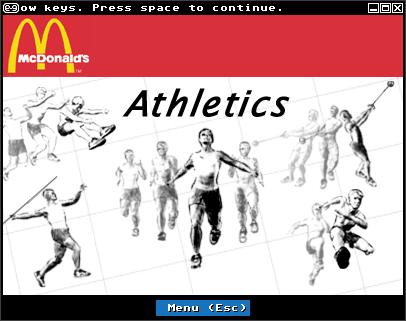 mcdonalds athletics